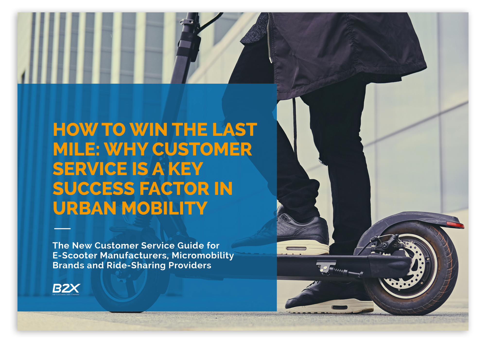 B2X Customer Service Guide Urban Mobility