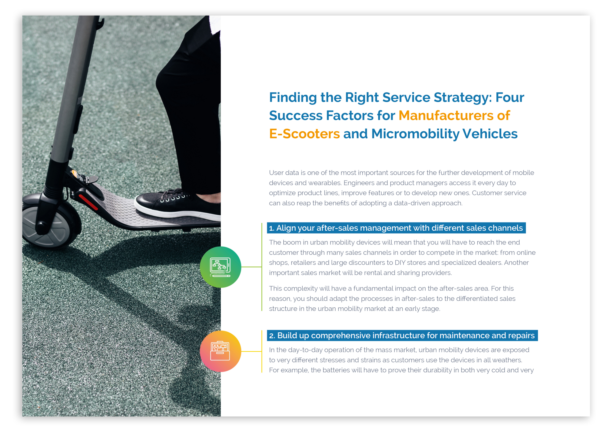 Finding the Right Service Strategy